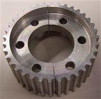 Custom timing belt pulley gallery pfeifer industries for Separation decorative entre 2 pieces