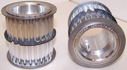 Single double timing cog pulley