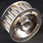 Cog pulley with built-in internal hex head nut